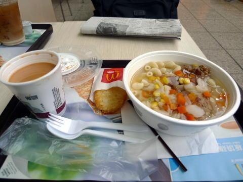 世界一安いという噂の香港のマクドナルド