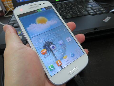 中華コピー携帯 GALAXY S3がDUAL-SIMで微妙に便利