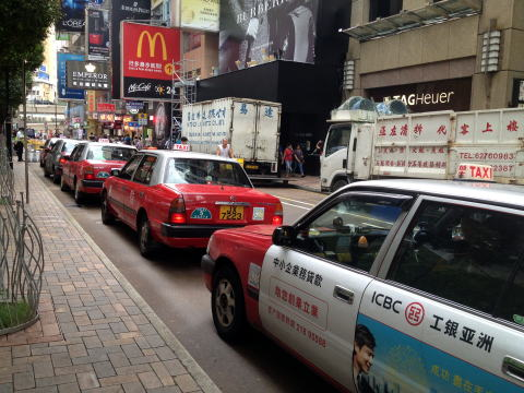 香港のボッタクリタクシー