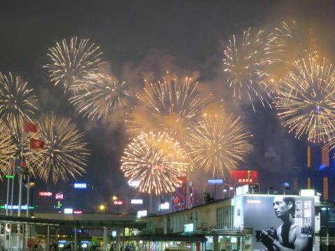 旧正月イベント 春節花火大会を見に行こう!
