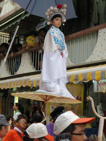 長洲島の饅頭祭を上手に楽しむコツ(パレード編)