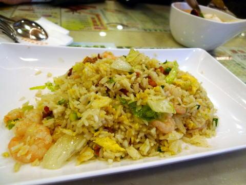 翠華餐廳(スイカ レストラン)で昼食を