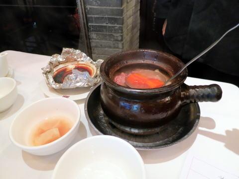 深セン 滋味堂民間瓦缸煨湯館の激旨スープ