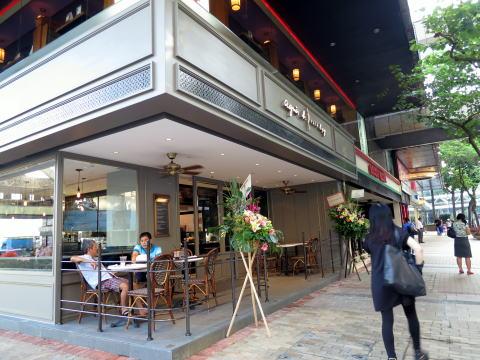 尖沙咀 agnes b. cafe L.P.G.(アニエスbカフェLPG)