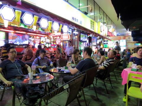 香港でもビアガーデンの雰囲気を楽しみたい!