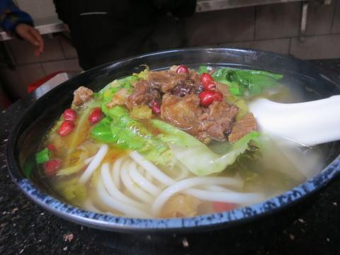 深セン 龍記桂林米線でローカルな昼食