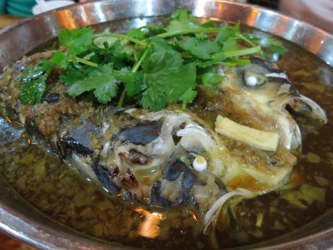 深セン 湖南料理「老郷村農家大碗菜」