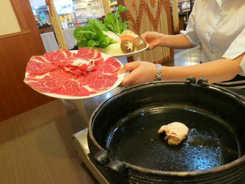 深セン 日本料理 松坂ですき焼き