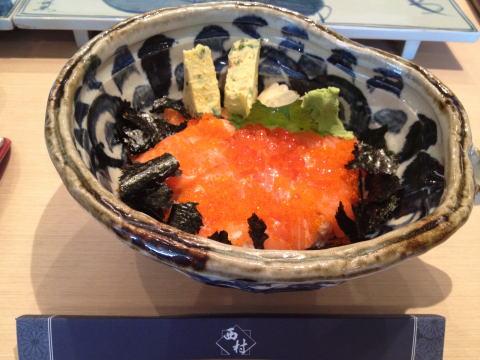 日本料理「西村」でランチ