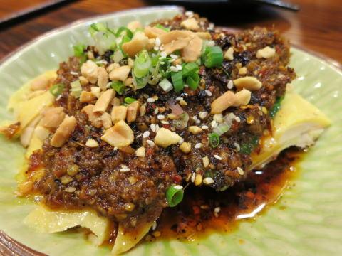 銅鑼湾 川味港威記川菜海鮮館で四川料理