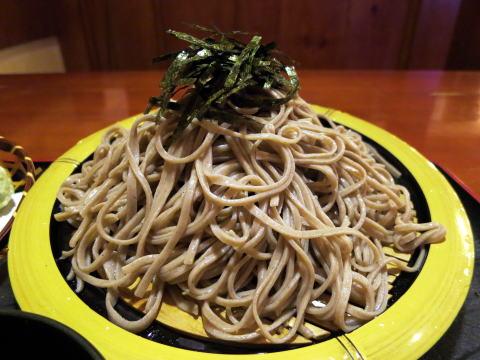 深セン 蕎麦人で日本の蕎麦を懐かしむ