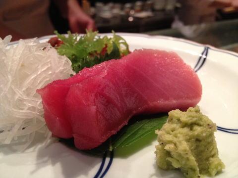 銅鑼灣の高級寿司店「寿司 竹(SUSHI TA-KE)」でディナー
