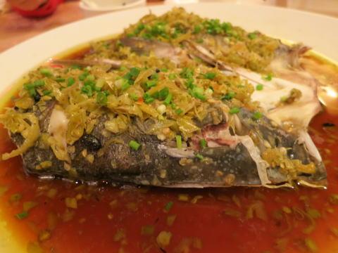 深セン 楚留湘で湖南料理を食べる