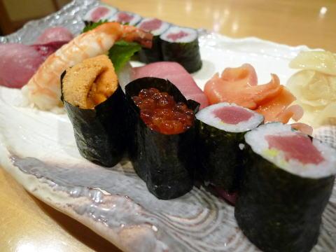 紅磡(ホンハム)の寿司 孝勢でディナー