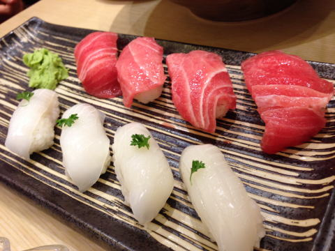 深セン 金光華にある築地魚河岸寿司