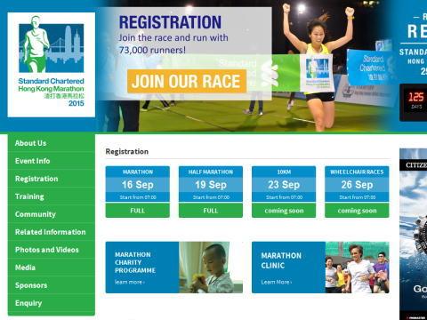 香港マラソンのエントリー・申し込みに関するアレコレ