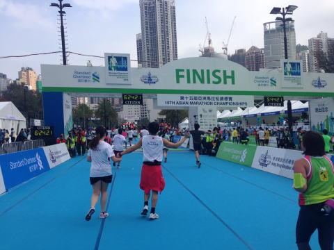香港マラソン2015参加レポート