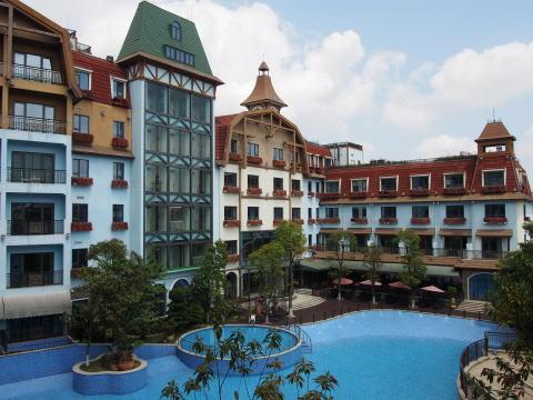 深セン東部華僑城黒森林酒店(オアシス O シティ ホテル)に宿泊した感想