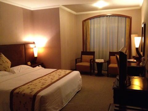 深センの富麗華酒店(GOLD HOTEL/ゴールドホテル)の感想
