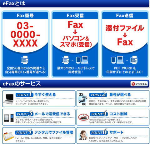 eFAXなら海外で日本のFAX番号取得・契約が可能な件