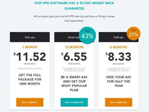 海外VPN HIDE MY ASSが安くて快適で、もうこれでOK!