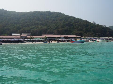 [タイ・パタヤ] 綺麗なビーチがみたい!ラン島への行き方
