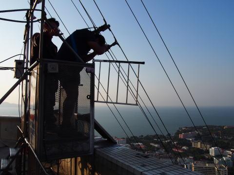 [タイ・パタヤ] パタヤ パークタワーで170mのビルからジャンプ!