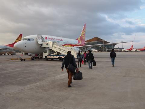 [シャングリラ] 祥鹏航空(Lucky Air)で昆明からシャングリラ空港へ
