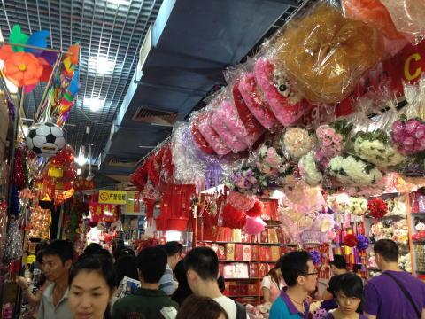 深セン 巨大な文具&雑貨市場!笋岗文具玩具批发市场