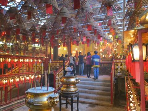上環 香港最古の道教寺院「文武廟」