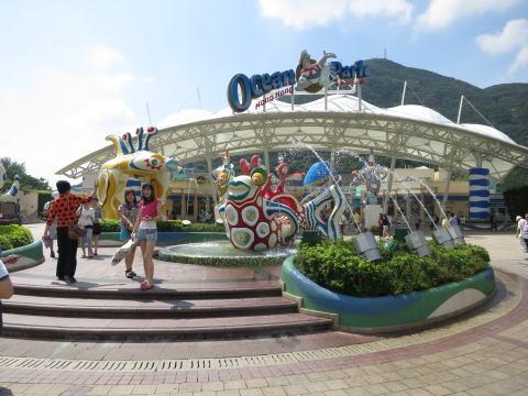 香港オーシャンパーク(Ocean Park)攻略法!